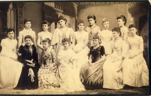 Kappa Chapter of Kappa Alpha Thetas, University of Kansas, late 1800s