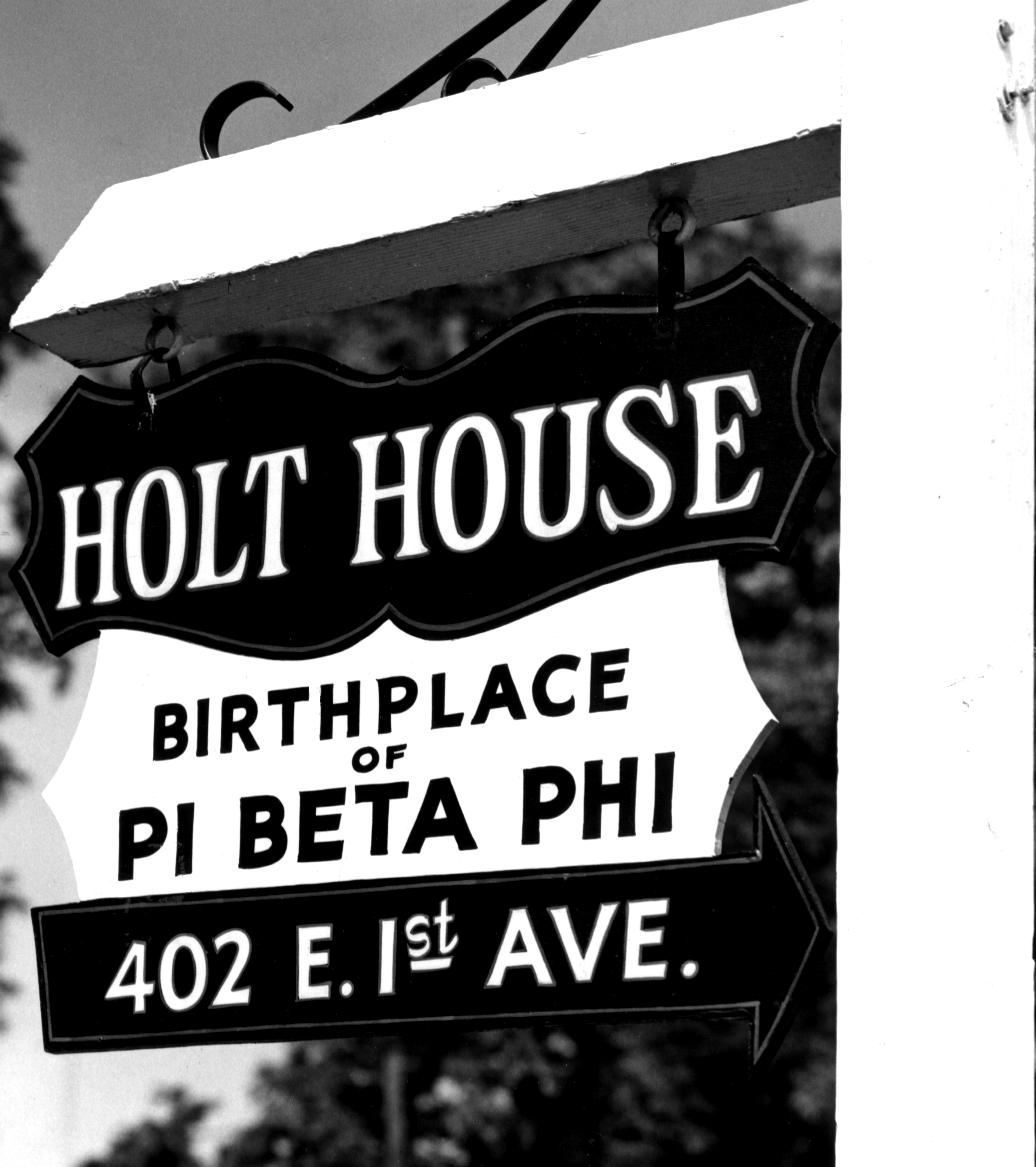 Pi Beta Phi was founded at Holt House in Monmouth, Illinois
