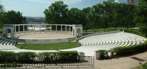 The Chi Omega Amphitheater at the University of Arkansas