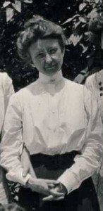 Emma Harper Turner, Pi Beta Phi's Grand President. She started her fraternity life as a member of the Kappa Kappa Gamma chapter at Franklin College (there is a post about her on this site.)