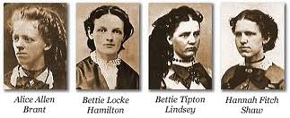 The four Kappa Alpha Theta Founders