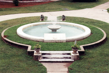 Alpha Delta Pi Fountain at Wesleyan College