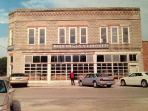 The General Store as it looked four years ago.