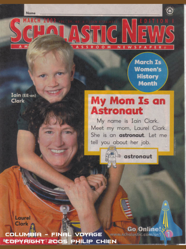Laurel and her son Sam wrote an article for Scholastic News.