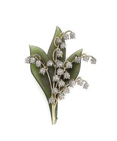 The lily of the valley is Alpha Phi's flower