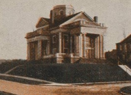 Psi Upsilons Pi chapter house, 101 College Place, Syracuse, NY, circa 1900.