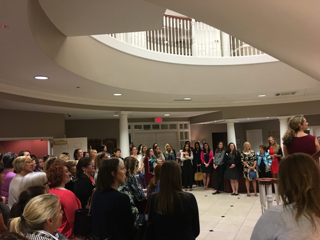 HQ tour at the Pi Beta Phi Officers Workshop
