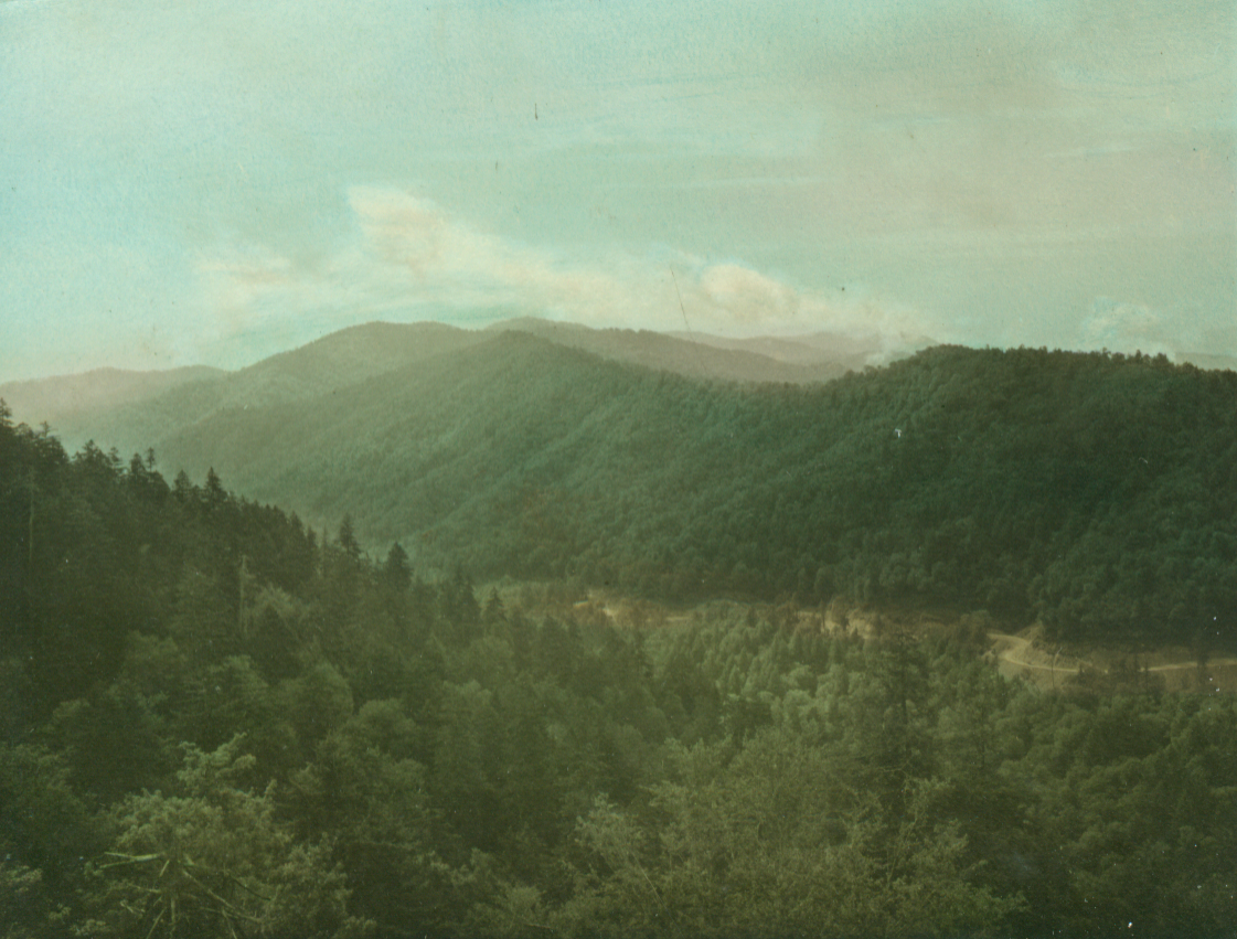 A view of Gatlinburg as it looked to May Lansfield Keller in the early 1910s.