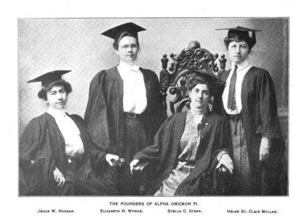 Alpha Omicron Pi's Founders